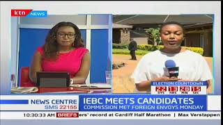 IEBC expected to meet Uhuru and Raila Odinga