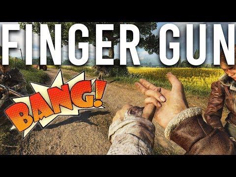 Finger Gun Easter Egg Battlefield V