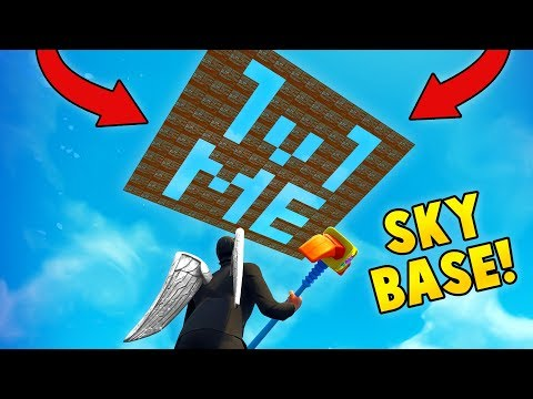 BEST SKY BASE TROLL EVER! (Fortnite FAILS & WINS #5)