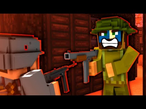 Minecraft WW2 - THE BATTLE BEGINS! - S3E4 (Heroes and
