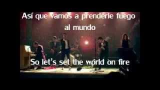 Fun - We Are Young - Letra en Inglés y Español-