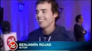 Бенхамин Рохас, Benjamin Rojas en Primera Persona. (Informe Especial: ¿Por qué nos atraen los miedos?).