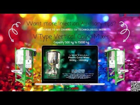 Hynaar Vertical Plastic Color Mixer