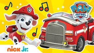 Sing Along To Hurry, Hurry, Drive The Fire Truck Ft. Marshall 🚒 | Sing-Along | Nick Jr.