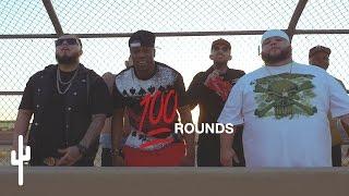"Dange Dizzy + Blendz + D.K. - ""100 ROUNDS""   OFFICIAL MUSIC VIDEO"