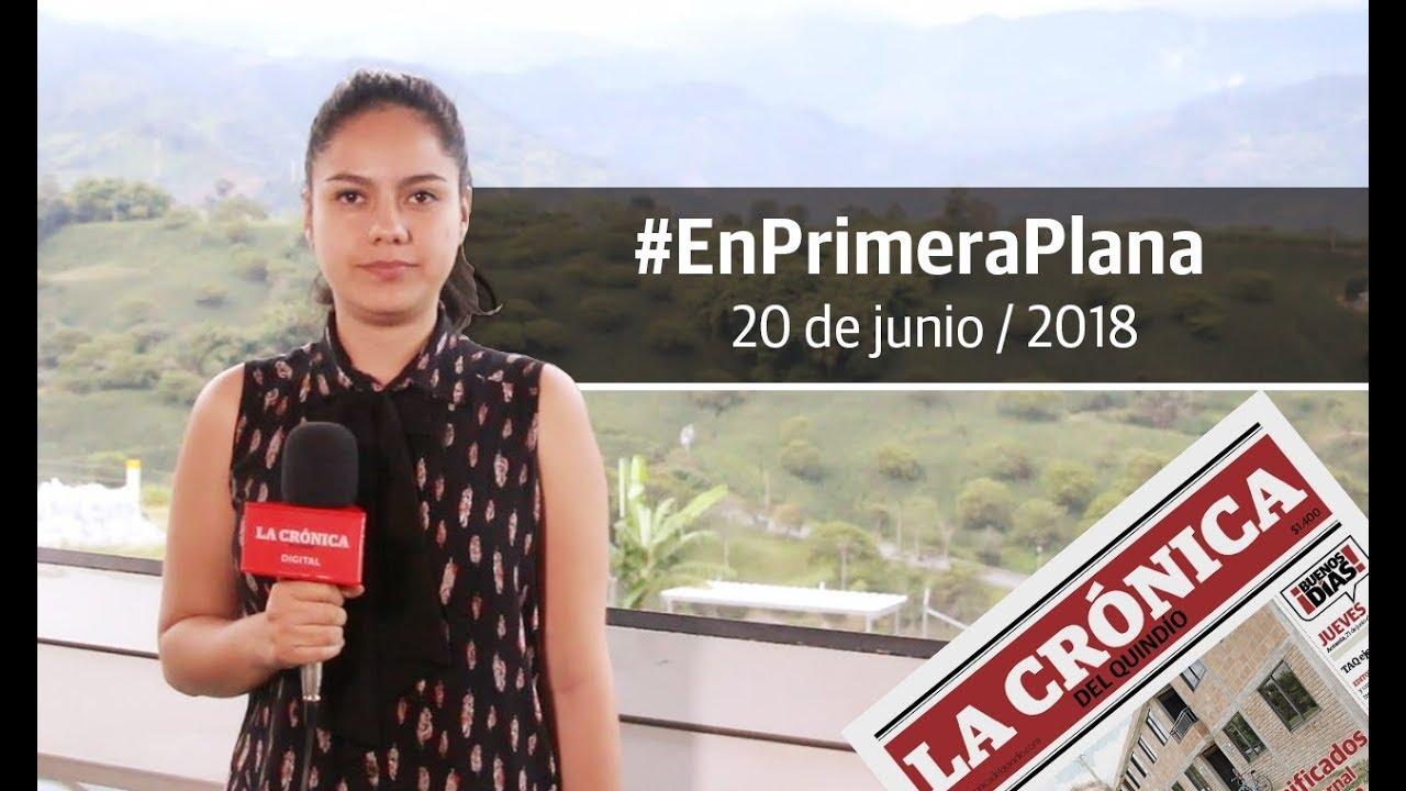 En Primera Plana - 20 de junio de 2018
