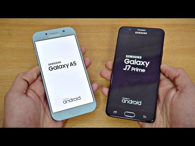 Samsung Galaxy A5 2017 Vs J7 Prime