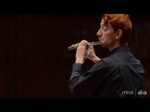 Performance of Toru Takemitsu's Voice for Solo Flutist, live at the Ordway Center for Performing Arts