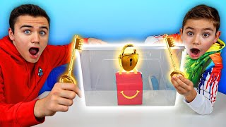 NE JAMAIS CHOISIR LA MAUVAISE CLÉ ! 🔑 (choose the right key challenge) thumbnail