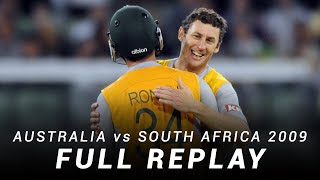 LIVE Flashback: Australia v South Africa | First T20I, 2008-09
