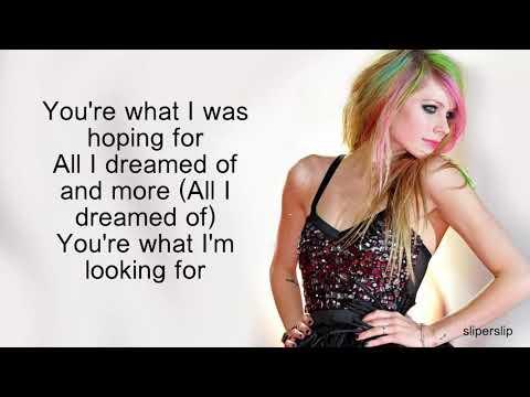 Avril Lavigne-Goddess Lyrics