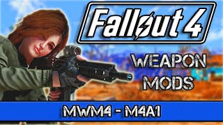 Fallout 4 Weapon Mods- MWM4 M4A1 - Weapon from COD Modern Warfare -Xbox and PC