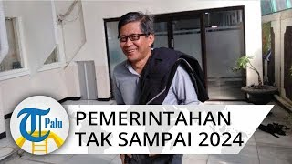 Rocky Gerung Prediksi Pemerintahan Presiden Jokowi Tak Sampai 2024