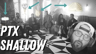 You'd have to be SHALLOW to not like PENTATONIX | First Time Hearing
