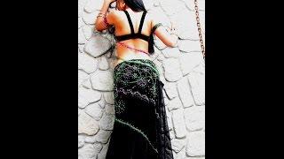 Смотреть онлайн Разминка спины для красивой осанки перед восточным танцем