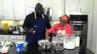 Making 4-Ingredient Buttermilk Biscuits