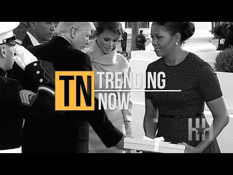 Michelle Obama Reveals What Melania Trump Gave Her On Inauguration Day - Trending Now