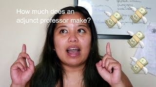 How Much Does an Adjunct Professor Make