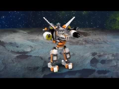 Vidéo LEGO Galaxy Squad 70707 : La contre-attaque du robot