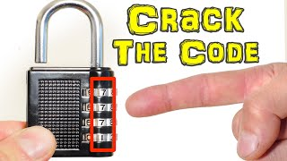 How to Crack the Code & Open a Combination Padlock