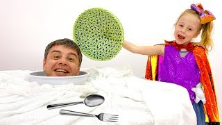 Nastya and Papa - the most popular series from the Like Nastya channel