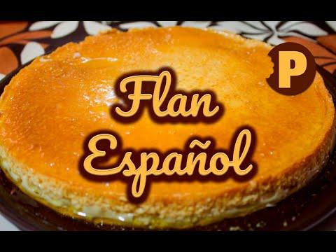 Vídeo Flan Español