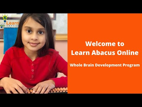 Welcome to Learn Abacus Online