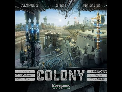 The Purge: # 1146 Colony: A dice rolling game after the collapse of mankind and the world....now it is time to rebuild