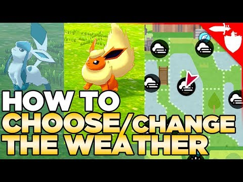 How to CHOOSE  Change the Weather in Pokemon Sword and Shield (Also Fog, Sandstorm & Hail)
