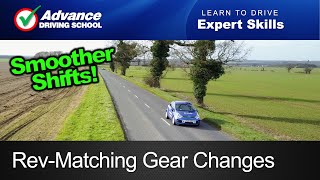 Rev-Matching Gear Changes In A Manual Car  |  Learn to drive: Expert skills