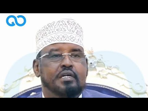 Jubaland president Ahmed Madobe sets conditions on election