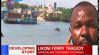 Ferry Tragedy:  Recovery operation ongoing, bodies yet to be retrieved