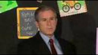 Фанфики про знаменитостей, реакция Джорджа Буша о теракте 11 сентября 2001 года
