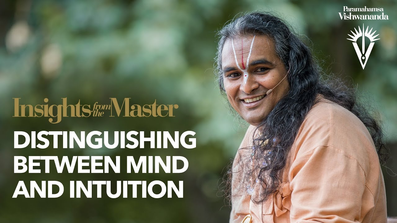 Distinguishing between mind and intuition | Insights from the Master
