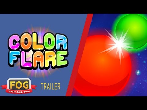 Video of Color Flare: Strategy Game