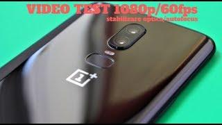 OnePlus 6, test stabilizare video si autofocus, 1080p 60fps
