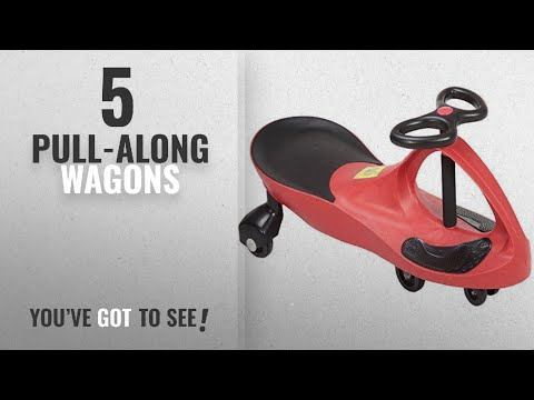 Top 10 Pull-Along Wagons [2018]: Rexco Swing Car Ride On Swivel Scooter Childrens Toy Kids Wiggle