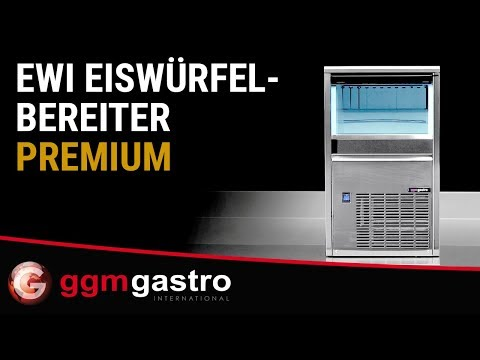 Eiswürfelbereiter EWI PREMIUM - GGM Gastro