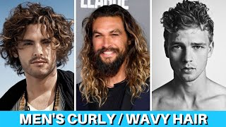 Best Mens Hairstyles For Curly / Wavy Hair | 20 Curly / Wavy Hairstyles For Men