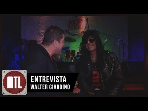 Rata Blanca video Entrevista Giardino sobre Tormenta Eléctrica - Agosto 2015