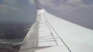 AA 2433 MIA Landing 737-800