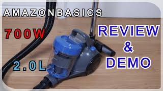 AmazonBasics Vacuum Cleaner Review & Demonstration