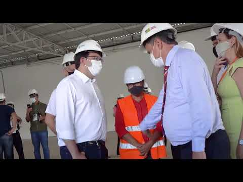 Obras do Centro de Convenções serão inauguradas em março
