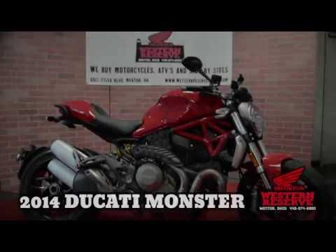 2014 Ducati Monster 1200 in Mentor, Ohio