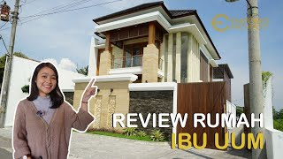 Video Construction Results Mrs. Uum Villa Bali House 2 Floors Design - Yogyakarta