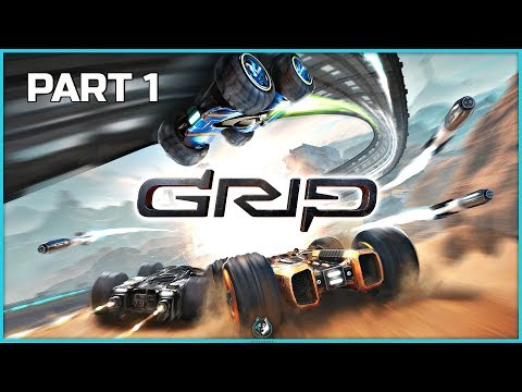 GRIP Combat Racing Campaign Part 1 – Speed Demons | PS4 Pro Gameplay