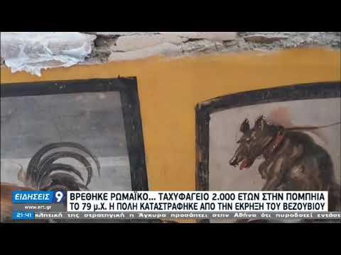 Ρωμαϊκό ταχυφαγείο 2.000 ετών βρέθηκε στην Πομπηία | 26/12/20 | ΕΡΤ