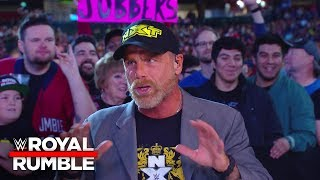 Shawn Michaels Announces WWE Halftime Heat To Stream Live On Sun., Feb. 3: Royal Rumble 2019 Kickoff