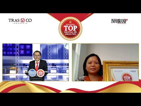 Popular diranah Digital, TBIG Raih Indonesia Top Digital Public Relation Award 2021
