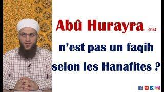 Abu Hurayra, est-il faqih (juriste) selon l'école Hanafite ? – Shaykh Ömer Faruk Korkmaz
